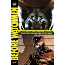 Brian Azzarello - Before Watchmen Deluxe Edition - Rorschach / Nite Owl / Dollar Bill / Crimson Corsair