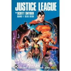 Scott Snyder - Justice League Deluxe Edition Bd.01